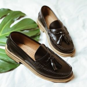 Top Shop Leather Loafers